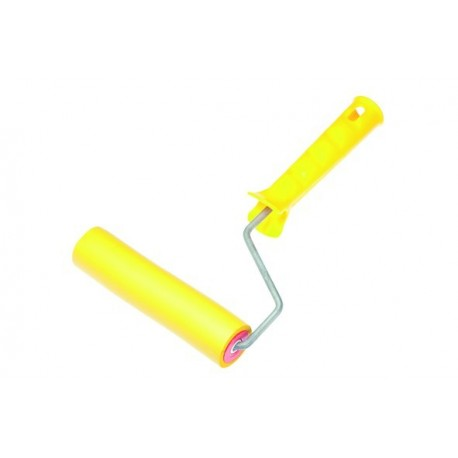 Валик прижимной полиуретановый 150 мм с рукояткой